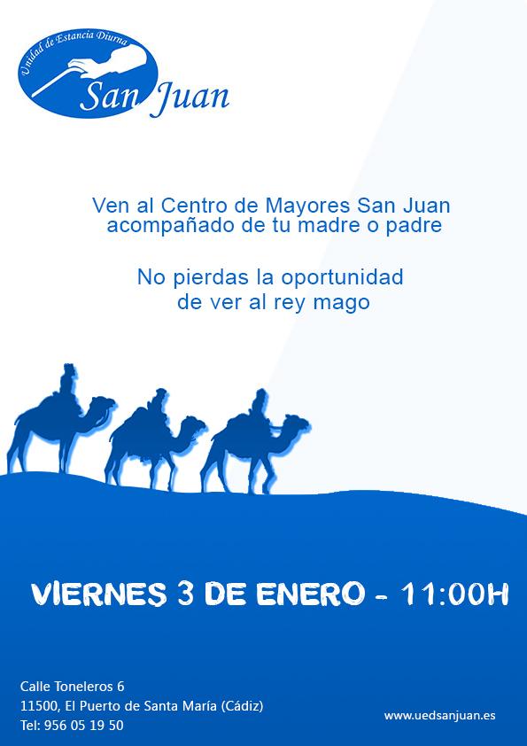 centro de dia para mayores - cartel reyes magos 2013